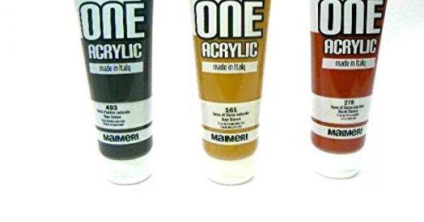 Acrylic colour made in italy maimeri mod  first on the best