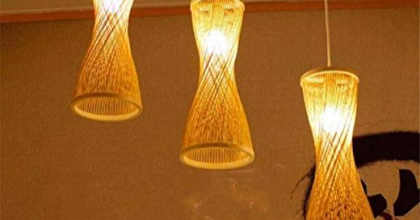Plafoniera Vimini : Rattan ceiling lamp the best amazon price in savemoney.es