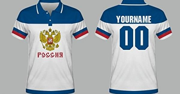 best service a2978 a9a0d New 2016 russia hockey world cup polo t-shirt nhl the best ...