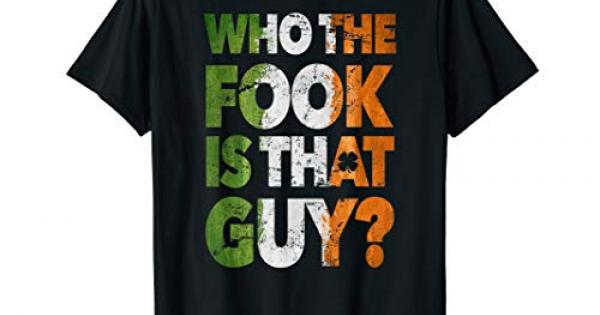 cc14b7b1 Who the fook is that guy t-shirt the best Amazon price in SaveMoney.es