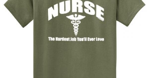 e6024938 Nurse tshirt shop the best Amazon price in SaveMoney.es