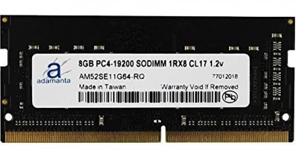 Adamanta 8GB 1x8GB Laptop Memory Upgrade for Dell Latitude E7470 DDR4 2133Mhz PC4-17000 SODIMM 1Rx8 CL15 1.2v Notebook DRAM
