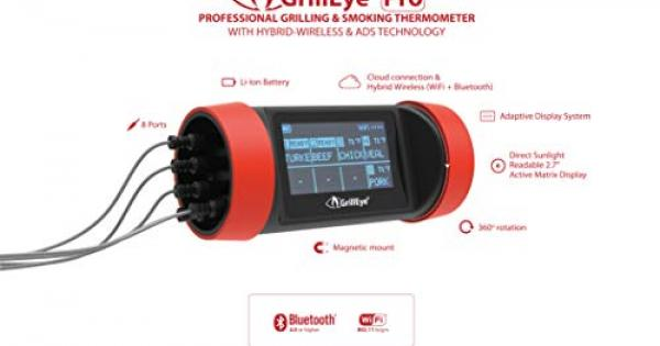 Grilleye Professional meat and ambient Grill Termometro Sensore campione BBQ